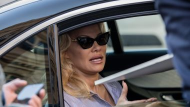 Archive : Pamela Anderson en voiture. / © IP3 PRESS/MAXPPP