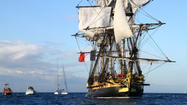 L'Hermione version 2019 / © Francis Latreille, association Hermione