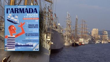 Le programme officiel de l'Armada 2019 / © Photo Armada : Stéphane L'HOTE / France 3 Normandie