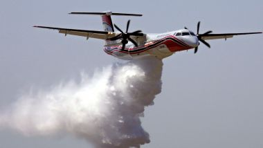 France - Un Dash 8 de la sécurité civile - archives / © ANNE-CHRISTINE POUJOULAT / AFP
