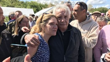 Caroline Jolivet et Michel Sardou / © Laurent Beauvais