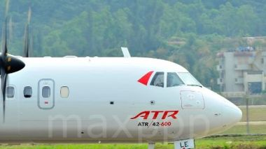 Salon du Bourget : ATR annonce 75 commandes pour 1,7 milliards de dollars / © Chinfotopress/Maxppp