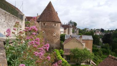 Les remparts d'Avallon, dans l'Yonne. / © Maryline Barate / France 3 Bourgogne