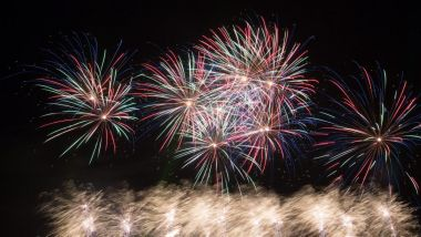 Le grand feu d'artifice de Saint-Cloud, en 2014. / © PHOTOPQR/LE PARISIEN