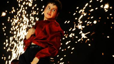 Effets pyrotechniques, feux d'artifices... un show à l'américaine de Christine and The Queens au Main Square / © Yann Fossurier, France 3 Nord Pas-de-Calais
