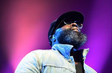 Black Thought, rappeur de The Roots aux Eurockéennes de Belfort 2019. / © Photo : Sarah Rebouh - France 3 Franche-Comté
