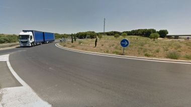 Béziers - Rond-point RD.64 et A9 - archives / © google street view