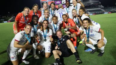 Football : l'OL féminine gagne la Women's International Champions Cup / © Andy Mead / YCJ
