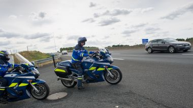 Gendarmes d'un peloton d'autoroute (photo d'illustration) / © GUILLAUME SOUVANT / AFP