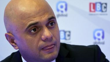 Sajid Javid, ministre des Finances du gouvernement de Boris Johnson. / © Paul ELLIS / AFP