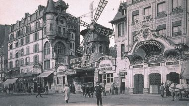 La façade du Moulin Rouge en 1900. / © Moulin Rouge