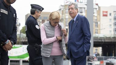 Le couple Balkany attendent le rendu du verdict du Tribunal de Grande Instance de Paris, le 13 septembre 2019. / © IP3 PRESS/MAXPPP