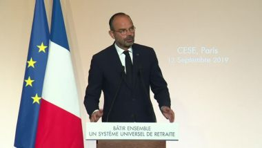 Edouard Philippe le 12 septembre à Paris