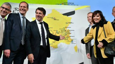 Présentation à Paris du Tour de France 2020 par Christian Prudhomme, directeur du Tour de France. / © PHOTOPQR/OUEST FRANCE/MAXPPP