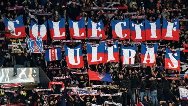 Des ultras du PSG au Parc des Princes, en octobre 2016 (illustrations). / © FRANCK FIFE / AFP