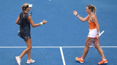 Mladenovic et Babos / © ELSA / GETTY IMAGES NORTH AMERICA / AFP