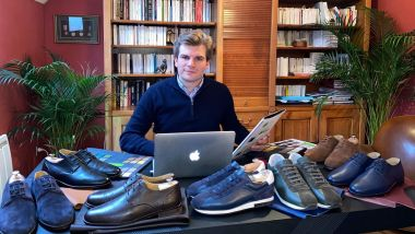 Arnaud Mulak propose des sneakers et des derbies à faible impact carbone. / © Froggies Paris