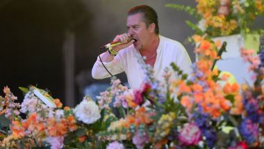 Mike Patton leader du groupe Faith No More au Hellfest le 20 juin 2015 / © MaxPPP - Franck Dubray