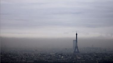 Un brouillard de pollution atmosphérique au-dessus de la capitale, le 6 décembre 2017 (illustration). / © IP3 PRESS/MAXPPP