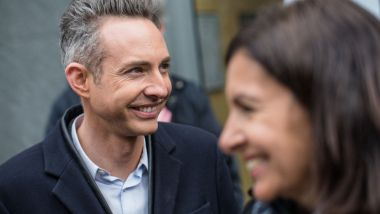 Ian Brossat, adjoint à la Maire de Paris, et Anne Hidalgo, maire de Paris, en mars 2019. / © IP3 PRESS/MAXPPP