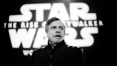 "Mark Hamill (Luke Skywalker) lors de l'avant-première mondiale de ""L'Ascension de Skywalker"" / © Rich Fury / AFP"