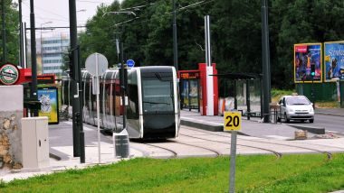 Le tramway à Tours. / © PHOTOPQR/LA NOUVELLE REPUBLIQUE