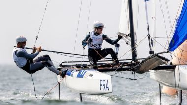 Manon Audinet et Quentin Delapierre / © Sailing Energy World Sailing