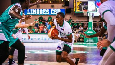 Semaj Christon (Limoges CSP) / © André Abalo - France 3 Limousin