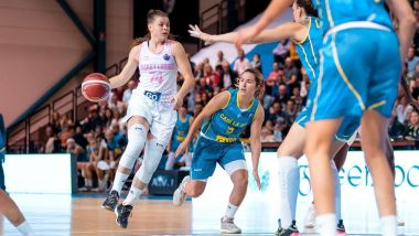 EuroCup Women : premier match Basket Landes vs Cadi La Seu / © @BasketLandes