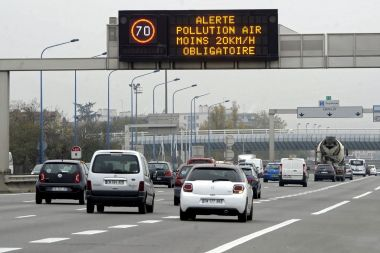 Une alerte pollution à Toulouse. / © Xavier de Fenoyl/MaxPPP