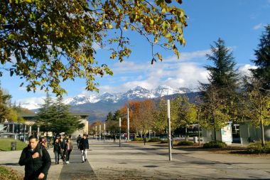 Le campus universitaire de Grenoble le 17 novembre 2016. / © Creative commons