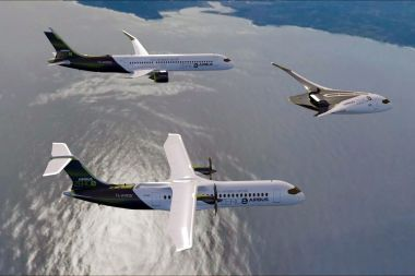 L'avion vert à hydrogène : une solution d'avenir ? / © Photo Airbus/AFP