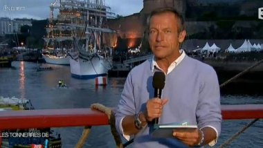 Laurent Bignolas en direct de Brest (17 juillet 2012) / © France 3