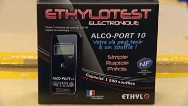Ethylotest électronique - Sté Ethylo (Aube) / © France 3 Champagne-Ardenne