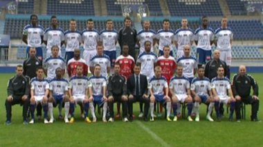 La photo officielle du Racing-Club de Strasbourg Alsace / © France3Alsace