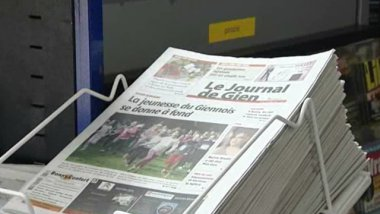 Le journal de Gien version tabloïd / © France 3 Centre