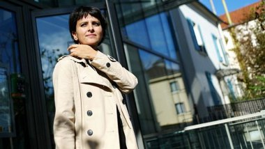 Najat Vallaud-Belkacem, archives, mai 2012 / © AFP / Fred Dufour