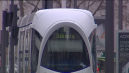 Tramway contre voiture cours Charlemagne, à Lyon
