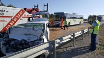 accident mortel RCEA auto contre bus à Charolles