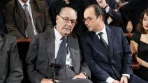 AFP - Hollande et Chirac