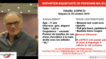 Disparition Hayange - Twitter Police nationale 4 novembre 2019