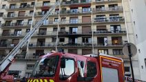 Photos Incendie Tombe Issoire 14e (FILLE DF)
