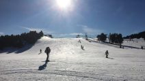 Neige, soleil, les Angles