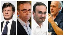 photo montage MAXPPP : 4 candidats en lice pour second tour à Bordeaux 2020