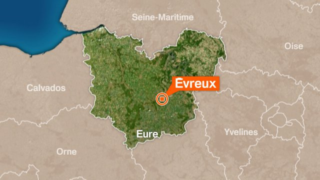 Un accident grave à Evreux