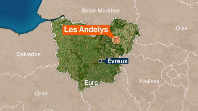Eure: un accident mortel aux Andelys