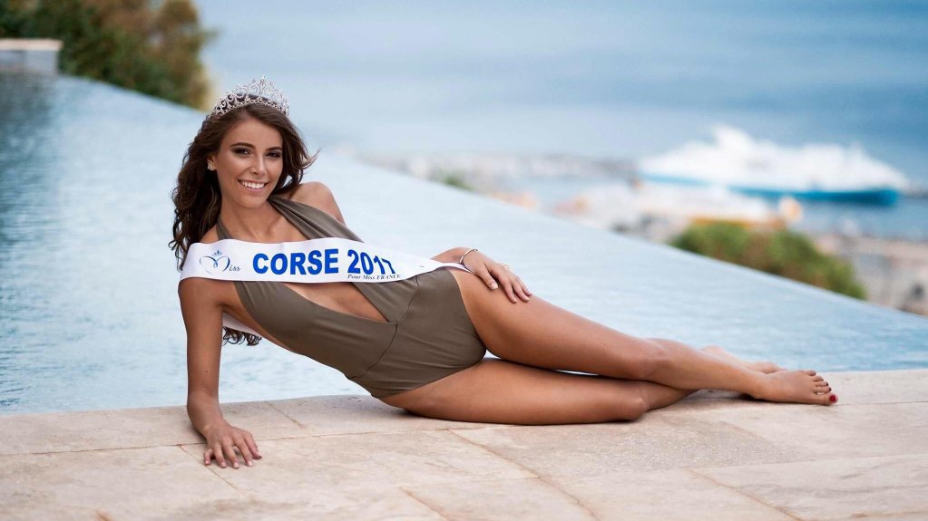 Eva Colas Miss Corse 2017 pour Miss France 2018 / © JC Massoni / Facebook