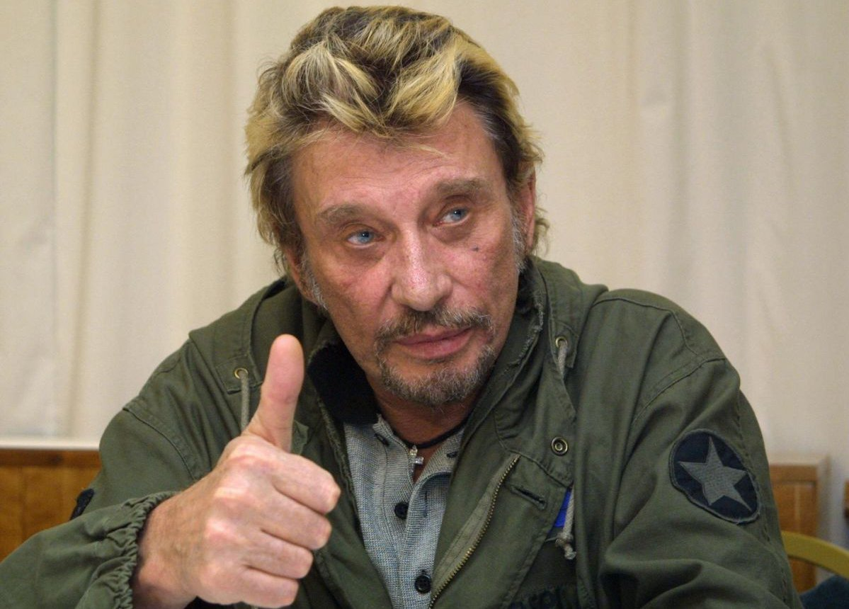 Johnny Hallyday en 2003 / © AFP - J. Munch