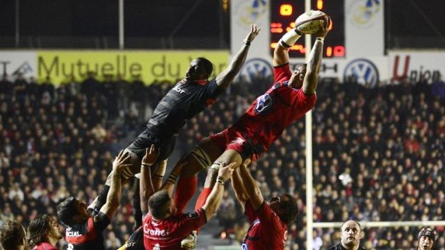 2013 Demi-finale du Top 14,Toulon rencontre Toulouse / © BORIS HORVAT / AFP